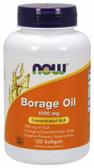 UK Buy Borage Oil 240 mg, 120 Softgels, Now Foods