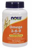 UK Buy Omega 3-6-9 1000 mg 100 Softgels, Now Foods