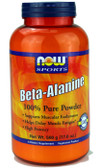 Beta Alanine Powder 500 G, Now Foods, Muscular Endurance