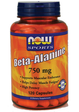 Now Foods Beta Alanine  120 Caps, Endurance