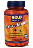 Now Foods Beta Alanine  120 Caps, Endurance
