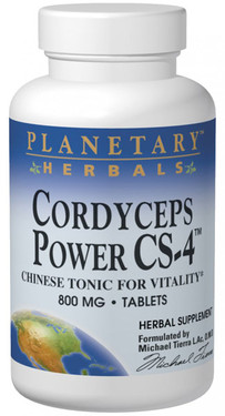 Cordyceps Power CS-4 800 mg 120 Tabs, Planetary, UK Shop