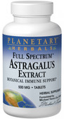 Astragalus Extract 500 mg 120 Tabs, Planetary, Immune