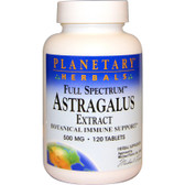 Astragalus Extract 500 mg 120 Tabs, Planetary Herbals, Immune, UK
