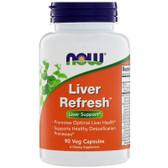 UK Buy Liver Refresh, 90 Caps, Now Foods, Detox, Regenerator