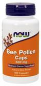UK Buy Bee Pollen 500 mg, 100 Caps, Now Foods