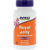 Now Foods, Royal Jelly, 300 mg, 100 Softgels, Immune Support
