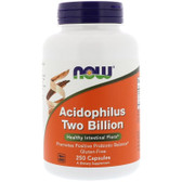 UK Buy Acidophilus 2 Billion, 250 Caps, Now Foods