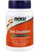 GR 8 Dophilus 60 Caps, Now Foods, Healthy Intestinal Flora