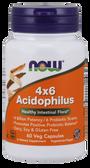 Acidophilus 4 X 6 Billion 120 Caps, Now Foods