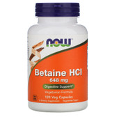 UK Buy Betaine HCL10 Grain, 120 Caps, Now Foods, Digestion