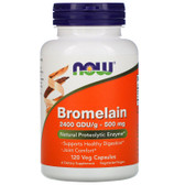 UK Buy Bromelain, 2400 GDU, 500 mg, 120 Caps, Now Foods
