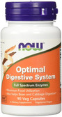 Optimal Digestive System 90 vCaps Now Foods, Enzymes