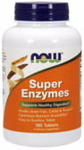 Super Enzymes, 180 Tabs, Now Foods, Digestion