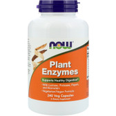 Plant Enzymes, 240 Caps, Now Foods, Digestion