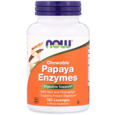 UK Buy Papaya Enzyme Chewable, 180 Tabs, Now Foods