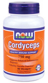 Cordyceps 750 mg 90 Caps, Now Foods, Immune
