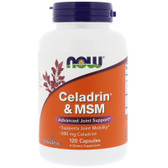 UK Buy Celadrin & MSM, 120 Caps, Now Foods, Joints