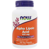 Alpha Lipoic Acid 100 mg 120 vCaps, Now Foods