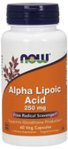 UK Buy Alpha Lipoic Acid, 250 mg, 60 Caps, Now Foods