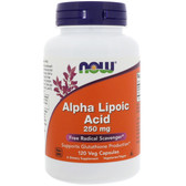 Now Foods Alpha Lipoic Acid 250 mg 120 Caps