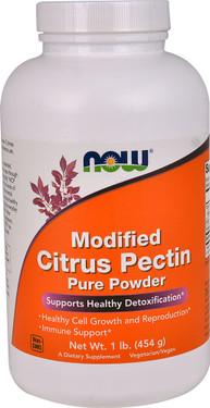 Buy UK Modified Citrus Pectin 454 g Now Foods, Heavy Metal Detoxification