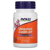 CoQH-CF Ubiquinol, 60 Softgels, Now Foods