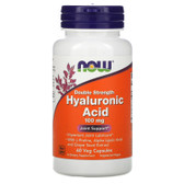 UK Shop Hyaluronic Acid 100 mg 60 Caps Now Foods, Joints Lubrication