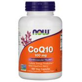 UK Buy CoQ10 100 mg, 180 Caps, Now Foods