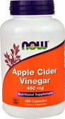 UK Buy Apple Cider Vinegar 450 mg, 180 Caps, Now Foods