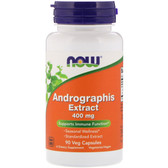 UK Buy Andrographis Extract 400 mg 90 Vcaps, Now Foods, Immune Modulator