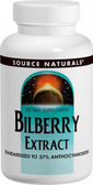 Bilberry Extract, 100 mg, 60 Tabs, Source Naturals, Eyes