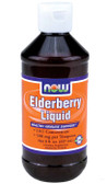 Elderberry Liquid Concentrate 8 oz, Now Foods, Immune Support