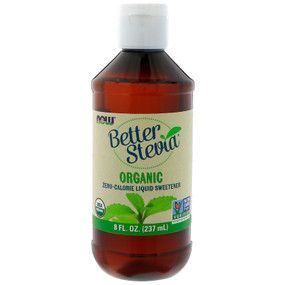 Buy UK Now Foods Organic Liquid Stevia  8 oz, Sweetener