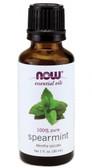 Spearmint Oil  1 oz, Now Foods