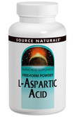 L-Aspartic Acid 100 gm Powder, Source Naturals