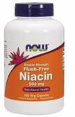 UK Buy Flush-Free Niacin, 500 mg 180 Caps, Now Foods, Vit B-3
