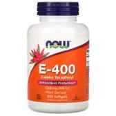 UK Buy Vitamin E-400 DA, 250 Softgels, Now Foods