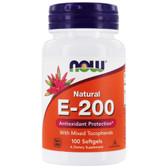 Vitamin E-200 MT, 100 Softgels, Now Foods