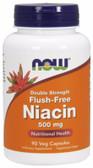 UK Buy Flush Free Niacin 500 mg, 90 Caps, Now Foods