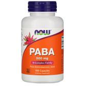 Uk buy Paba, 500 mg, 100 Caps, Now Foods