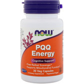 UK buy PQQ Energy 30 Veggie Caps, Now Foods