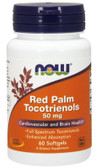 Red Palm Tocotrienols 50 mg 60 sGels, Now Foods