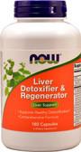 Liver Fresh, Detoxifier & Regenerator 180 Capsules, Now Foods