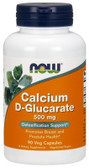Calcium D-Glucarate 500 mg 90 VCaps, Now Foods
