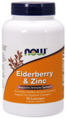 Elderberry & Zinc 90 Lozenges, Now Foods