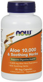 Aloe 10 000 & Soothing Herbs 90 VCaps, Now Foods