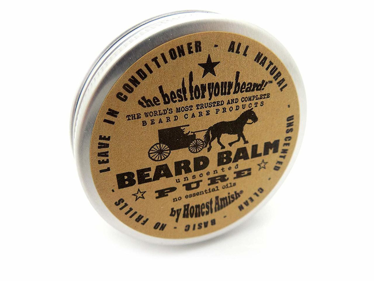 Buy UK Pure Beard Balm No Fragrance, All Natural 2 0 oz