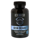 Buy UK Iron Beard 60 Caps Zhou, Beard Growth & Hair Nutrition, Biotin, Collagen
