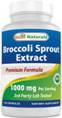 Uk Buy Broccoli Sprout Extract 1000mg, 120 Caps, Best Naturals